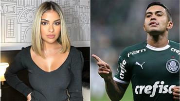 Leo Dias diz que Dudu, do Palmeiras, está namorando a ex-BBB Munik Nunes