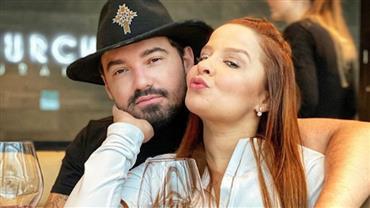 """Maiara pede Fernando Zor em casamento e cantor responde: """"Temos que evitar aglomerações"""""""