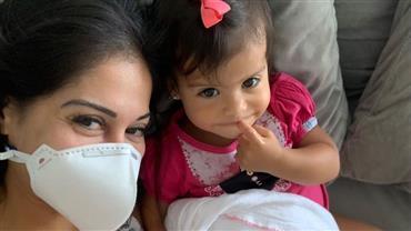 Mayra Cardi rebate críticas por manter babá em meio à pandemia de coronavírus