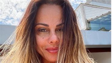Viviane Araújo registra boletim de ocorrência contra esposa do ex-marido