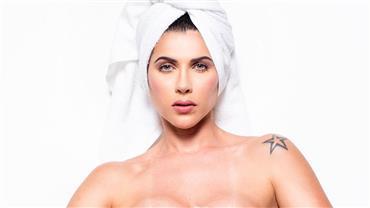 Ana Paula Minerato encarna fazendeira sexy e deixa barriguinha sarada à mostra