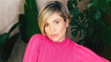 """Flávia Alessandra relembra clique com bumbum empinado e fã arrisca cantada: """"Doeu quando caiu do céu?"""""""