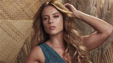 """De lingerie, Paolla Oliveira ostenta corpão em fotos sensuais e encanta fãs: """"Perfeita"""""""