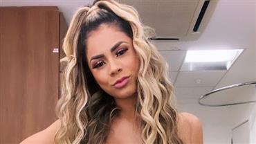 Lexa exibe barriga 'sequinha', Mayra Cardi não resiste e deixa comentário