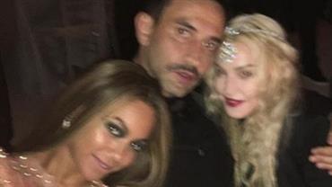 Madonna e Beyoncé posam juntas