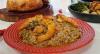 Convidado de Edu Guedes faz arroz com frutos do mar e receitas com bacalhau