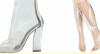 Sapatos transparentes são os queridinhos das estrelas, diz Júlia Pereira