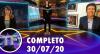 TV Fama (30/07/20)   Completo