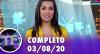 TV Fama (03/08/20)   Completo