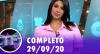 TV Fama (29/09/20) | Completo