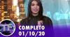 TV Fama (01/10/20) | Completo