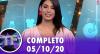TV Fama (05/10/20) | Completo