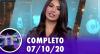 TV Fama (07/10/20) | Completo