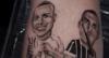 Ex-BBB Felipe Prior tatua imagem de Ronaldo Fenômeno na perna