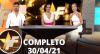 TV Fama (30/04/21) | Completo