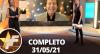 TV Fama (31/05/2021)  Completo