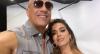 Anitta posa ao lado do ator norte-americano Vin Diesel