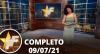TV Fama (09/07/21) | Completo