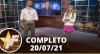 TV Fama (20/07/21) | Completo