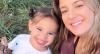 Fofurômetro: Ticiane Pinheiro e as lindas bochechas da filha Manuella