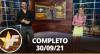 TV Fama (30/09/21) | Completo