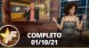TV Fama (01/10/21) | Completo