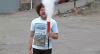 """Que estrago! Folgado com extintor deixa povo """"pegando fogo"""""""