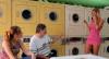 Lavando a roupa suja: loira arruma confusão em lavanderia