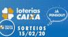 Loterias Caixa: Mega-Sena, Quina, Timemania e mais 15/02/2020