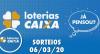 Loterias Caixa: Quina, Lotofácil e mais 06/03