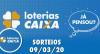 Loterias Caixa: Lotofácil e Quina 09/03/2020