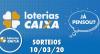 Loterias Caixa: Mega-Sena, Dia de Sorte, Quina e mais 10/03