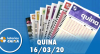 Resultado da Quina - Concurso nº 5221 - 16/03/2020