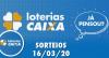 Loterias Caixa: Quina e Lotofácil 16/03