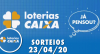 Loterias Caixa: Quina, Dia de Sorte e Timemania 23/04/2020