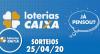 Loterias Caixa: Mega-Sena, Quina, Timemania e 25/04/2020