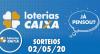 Loterias Caixa: Mega-Sena, Lotomania, Lotofacil e mais 02/05/2020
