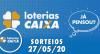 Loterias Caixa: Mega-Sena, Quina e Lotofácil 27/05/2020