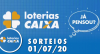 Loterias Caixa: Mega-Sena, Quina e Lotofácil 01/07/2020