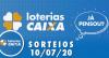 Loterias Caixa: Lotofácil, Lotomania e Quina 10/07/2020
