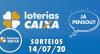Loterias Caixa: Mega-Sena, Quina, Lotomania e mais 14/07/2020