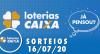 Loterias Caixa: Mega-Sena, Quina, Dia de Sorte e mais 16/07/2020