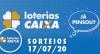 Loterias Caixa: Lotofácil, Lotomania e Quina 17/07/2020