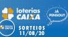 Loterias Caixa:  Mega-Sena, Quina, Lotomania e mais 11/08/2020