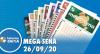 Resultado da Mega-Sena - Concurso nº 2303 - 26/09/2020