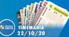 Resultado da Timemania - Concurso nº 1553 - 22/10/2020