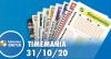 Resultado da Timemania - Concurso nº 1557 - 31/10/2020