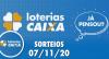 Loterias Caixa: Mega-Sena, Quina, Timemania e mais 07/11/2020
