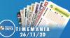 Resultado da Timemania - Concurso nº 1568 - 26/11/2020