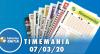 Resultado da Timemania - Concurso nº 1570 - 01/12/2020